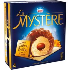 Mystère crème brulée x4 -308g