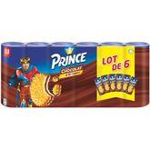 LU PRINCE Biscuits fourrés au chocolat 6x300g