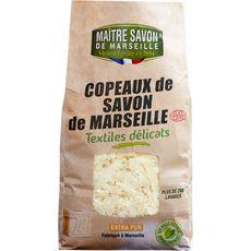 Maître Savon Copeaux savon de Marseille écologiques textiles délicats 750g