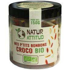 Natur'Attitud bonbons crocodiles bio 150g