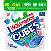 Hollywood cubes menthe note fruitée 41g