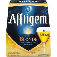 Affligem Cuvée blonde bière belge d'abbaye 6,7° -6X25cl