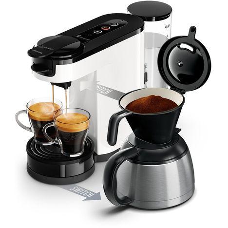 PHILIPS Machine à café à dosettes et filtre Senseo - HD6592/01