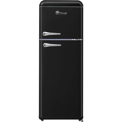 TRIOMPH Réfrigérateur 2 portes TLDP208N, 208 L, Froid statique