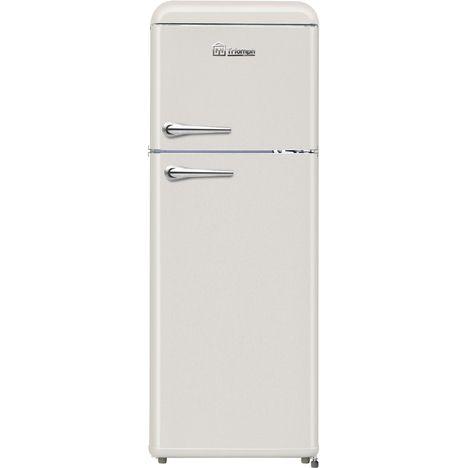 TRIOMPH Réfrigérateur 2 portes TLDP208C, 208 L, Froid statique