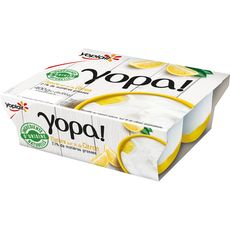 YOPLAIT YOPLAIT Yaourt Nature, Citron 4x100g 4x100g 4x100g
