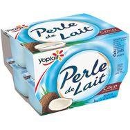 Perle de lait saveur coco 8x125g