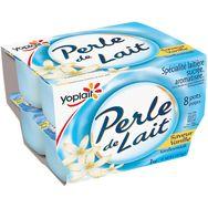 Perle de lait vanille 8x125g