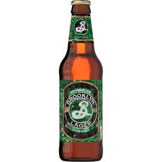 BROOKLYN Bière blonde lager 5,2% bouteille 35,5cl
