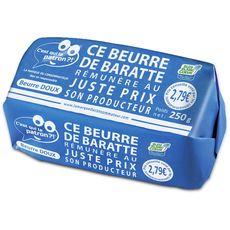 C'EST QUI LE PATRON? Beurre de baratte doux Bleu Blanc Coeur 250g