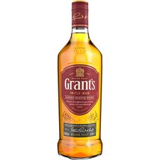 GRANTS Scotch whisky écossais blended malt triple wood 40% 70cl