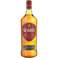 GRANTS Scotch whisky écossais blended malt triple wood 40% 1l