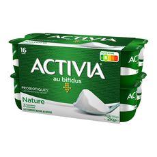 ACTIVIA Yaourt bifidus nature 16x125g