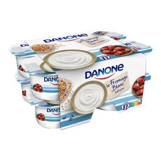 DANONE Fromage blanc nature 3,2% MG 8x125g