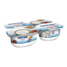 Danone Fromage blanc nature 3,2% MG  4x100g