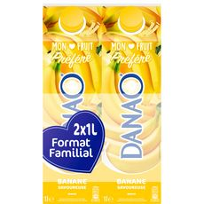 Danao banane savoureuse 2x1l