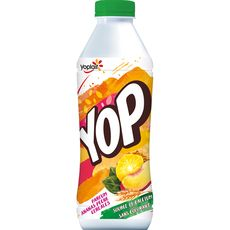 YOP YOP Yaourt à boire à l'ananas et à la pêche 825g 825g