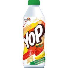 YOP YOP Yaourt à boire à la fraise et à la banane 825g 825g