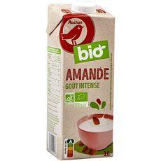 Auchan bio boisson lait amandes brique 1l