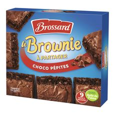 Brossard brownie chocolat pépites 285g