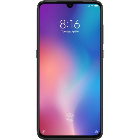 XIAOMI Smartphone - XIAOMI MI 9 - 64 Go - 6.4 pouces - Noir - 4G - Double SIM - Verre ultra résistant