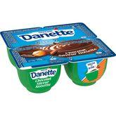 Danone Danette chocolat noisette 4x125g