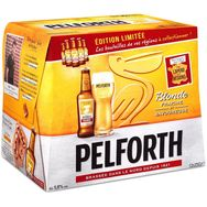 Pelforth Blonde bière blonde du Nord 5,8° -12x25cl