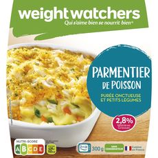 Weight Watchers parmentier de poisson 300g