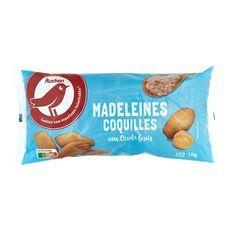 Auchan madeleines coquilles 1kg