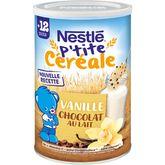 Nestlé pépites fondantes vanille/chocolat lait 400gdès12mois
