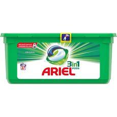 Ariel pods lessive originale écodose x27 -0,85l