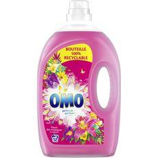 Omo lessive diluée fleurs des tropiques 52 lavages 2,6l