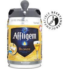 AFFLIGEM Affligem Bière blonde belge d'abbaye 6,7% fût pression 5l 5l