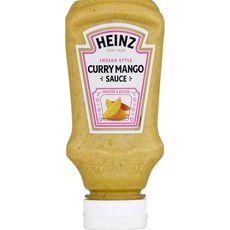 HEINZ Sauce curry mangue fruitée et épicée en squeeze 225g