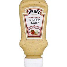 Heinz Sauce burger douce et relevée en squeeze 230g