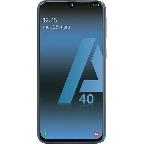 SAMSUNG Smartphone - GALAXY A40 - 64 Go - 5.9 pouces - Noir - 4G - Double port nano SIM