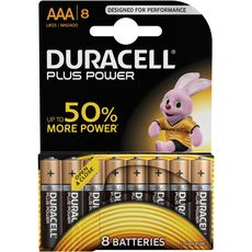 Duracell plus power AAA x8