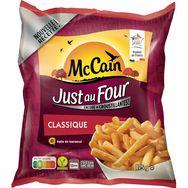 Mc Cain just au four frites classiques 875g