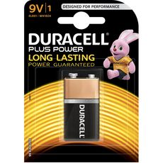 Duracell plus power 9V x1