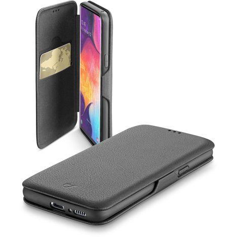 CELLULARLINE Etui folio pour Samsung Galaxy A50 - Noir