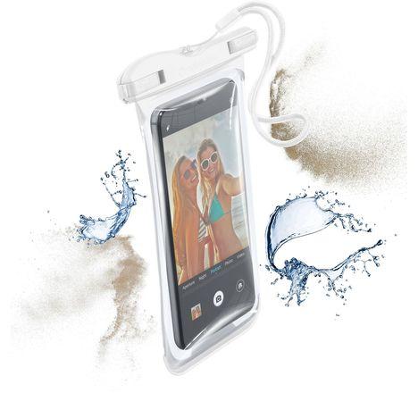 CELLULARLINE Pochette étanche pour smartphone Voyager19 - Blanc
