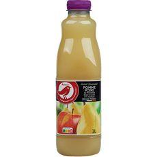 AUCHAN Instant gourmand nectar pomme poire de provence 1l