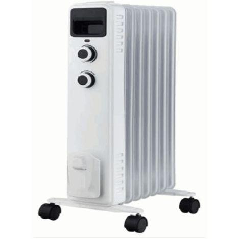SELECLINE Radiateur bain d'huile 141846 - Blanc