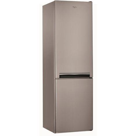 WHIRLPOOL Réfrigérateur combiné BLFV9101OX, 369 L, Froid brassé