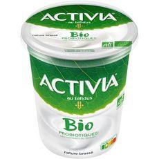 ACTIVIA Activia bio Yaourt brassé bifidus nature 460g 460g