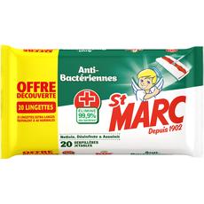 St Marc serpillière jetable antibactérienne x20