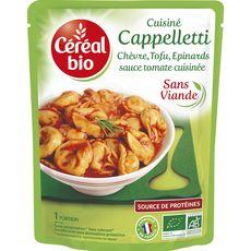 Céréal Bio express cappellettis chèvre tofu et épinards 220g