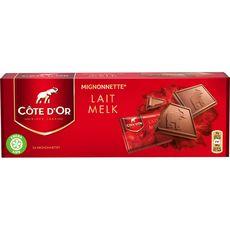 Côte d'or mignonnette lait extra fin x24 - 240g