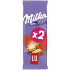 Milka petit lu tablette x2 -174g