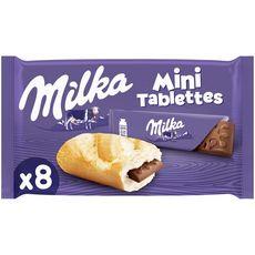 Milka mini barre chocolat au lait 8x25g